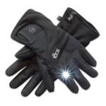 Сенсорные перчатки-фонарик 180s